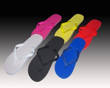 Ladies' L and XL Fashion Color Flip Flops