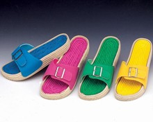 New! CloudSoft Bright Colors Canvas Sandals