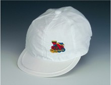 White Train Cap