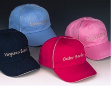 Sale - Girl's Embroidered City Name Baseball Cap