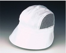 White Mesh Sides Scoop Hat
