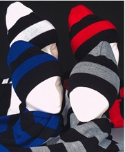 Sale! Rugby Stripe Knit Scarf