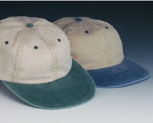 Sale - Washed Khaki Two Tone Cap - Ladies & Youth