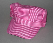 Toddler's  Pink Engineer Cap