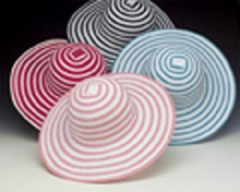 New! Flexible Ribbon Hat