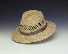 Vented Seagrass Safari Hat