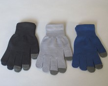 New! Touchscreen Magic Gloves - Large - Assorted