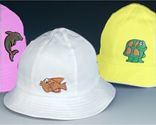 New! Animal Embroidered Toddler Hat